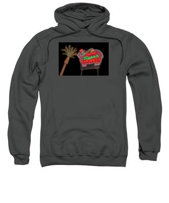 Pink Elephant Car Wash 36 X 24 Sweatshirt