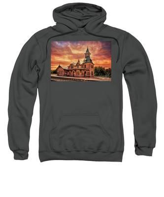 Point Of Rocks Train Station  Sweatshirt
