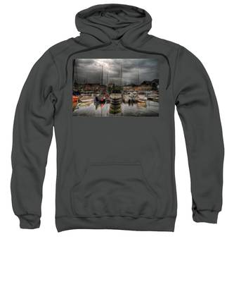Port At Como Lake Sweatshirt