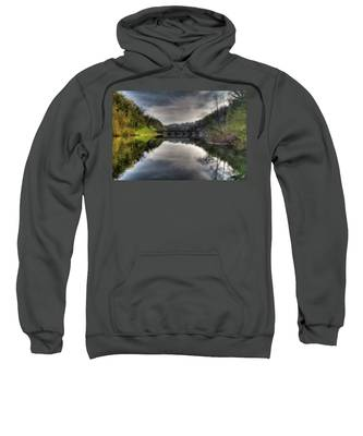 Reflections On Adda River Sweatshirt