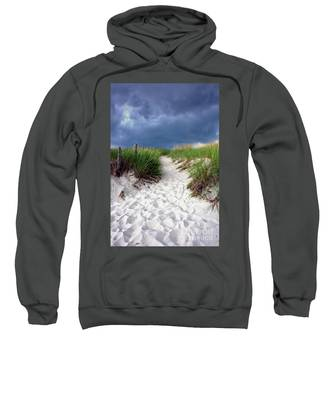 Sand Dune Under Storm Sweatshirt