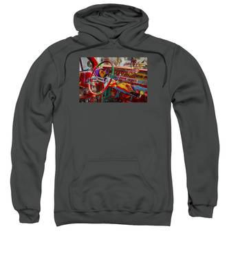 Scharfs Bomb Cadi Ultima Suprema Deluxa Interior Graffiti Sweatshirt