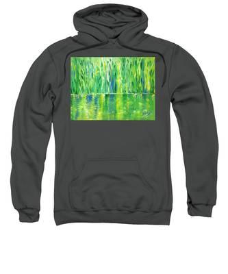Serenity In Green Sweatshirt
