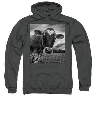 She Wears Her Heart For All To See Sweatshirt