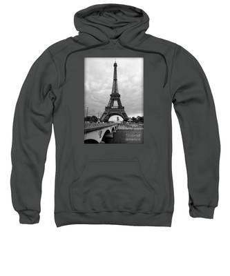 Summer Storm Over The Eiffel Tower Sweatshirt