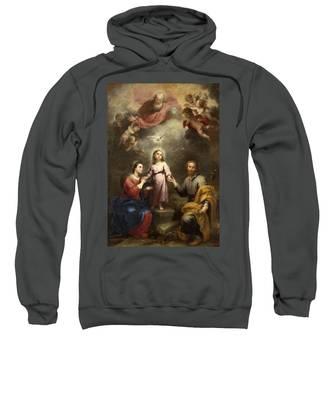 The Heavenly And Earthly Trinities Sweatshirt