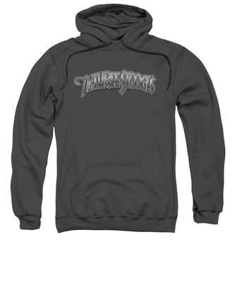 Metallic Hooded Sweatshirts T-Shirts
