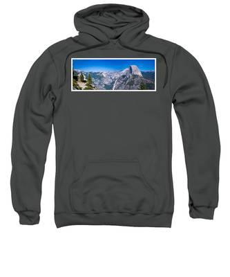 Yosemite Valley From Glacier Point Sweatshirt