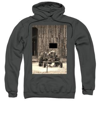 Tractor And The Barn Sweatshirt