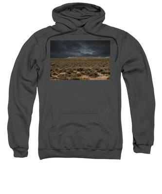 Midnight On The Pairie In Wyoming Sweatshirt