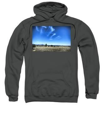 Point Of Pines - San Carlos Indian Reservation Sweatshirt