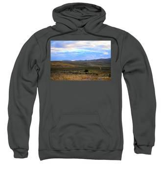 Stormy Wyoming Sunrise I Sweatshirt