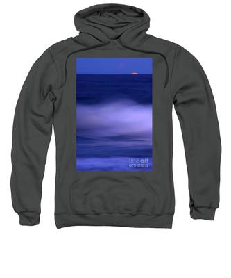 The Red Moon And The Sea Sweatshirt