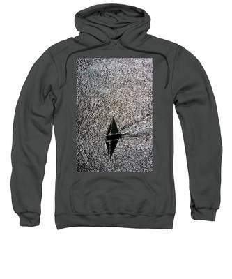 Sailing Into Solitude Sweatshirt
