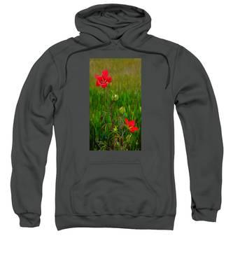 Texas Star Hibiscus Sweatshirt