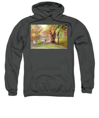Autumn Sweatshirt by Jill Wellington