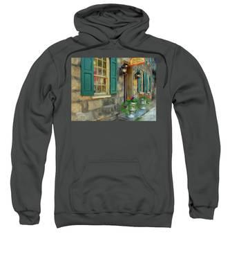 A Victorian Tea Room Sweatshirt
