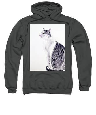 Alert Cat Sweatshirt