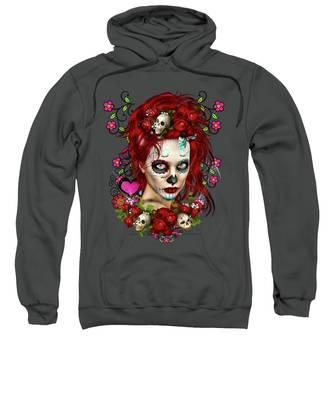 Sugar Doll Red Sweatshirt