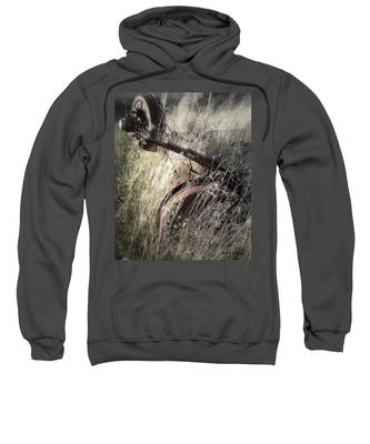 Sweatshirt featuring the photograph Axel by Susan Kinney