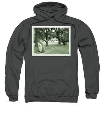 Back In Time At Hardman Farm Sweatshirt
