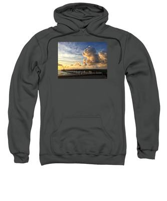 Big Cloud And The Pier, Sweatshirt