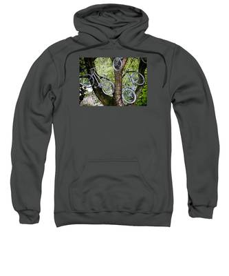 Bikes In A Tree Sweatshirt