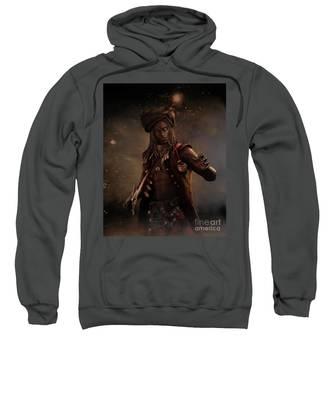 Black Caesar Pirate Sweatshirt