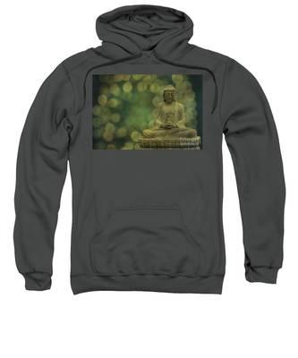 Buddha Light Gold Sweatshirt