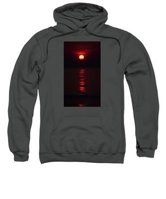 Burnt Orange Sunrise Sweatshirt