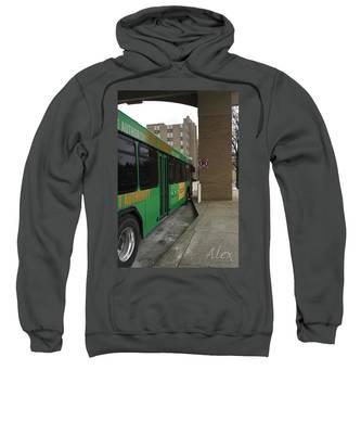 Bus Stop Hooded Sweatshirts T-Shirts