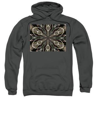 Butterfly Lace Sweatshirt
