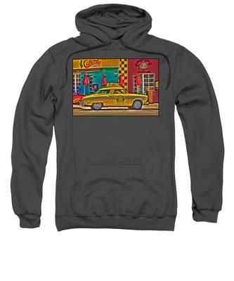 Caliente Cab Co Sweatshirt