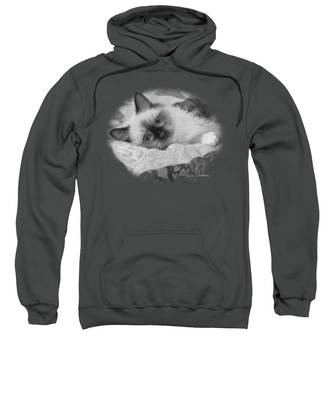 Charming - Black And White Sweatshirt