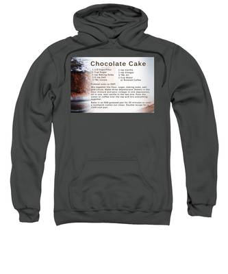 Chocolate Cake Recipe Sweatshirt