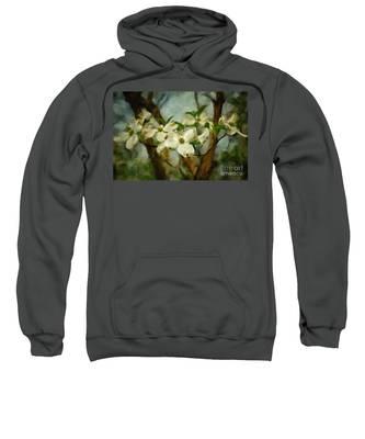 Cool Breeze Painterly Sweatshirt