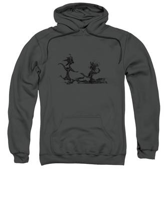 Sweatshirt featuring the painting Dancing Couple 9 by Manuel Sueess