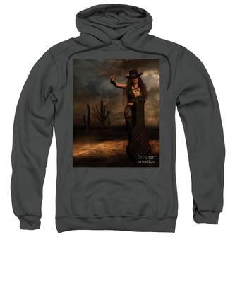 Dark Desert Highway Sweatshirt