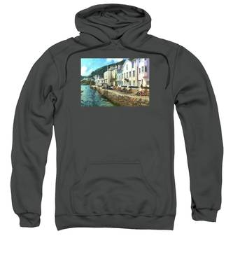 Bayards Cove Dartmouth Devon  Sweatshirt