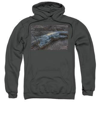 Delaware Water Gap In Winter #6 Sweatshirt