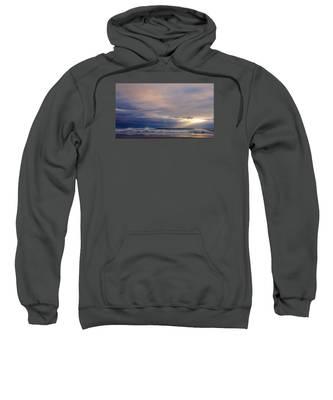Dramatic Wave Sunrise Sweatshirt