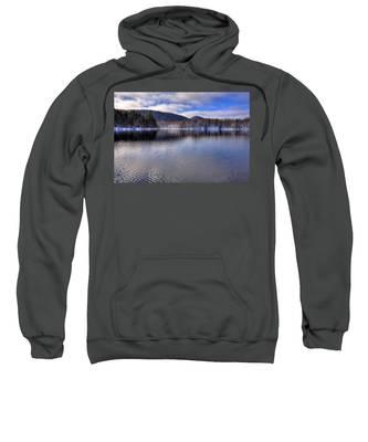 Early Snow On West Lake Sweatshirt