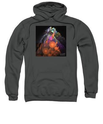 Exuberant - Abstract Art Sweatshirt