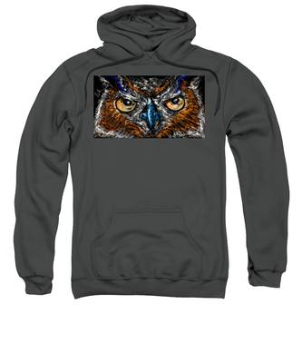 Eyes In The Night... Sweatshirt