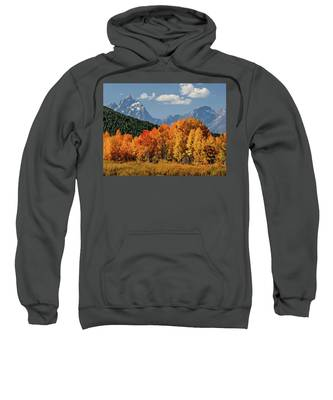 Fall In The Tetons Sweatshirt