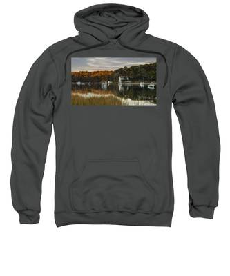 Fall Sunset In Centerport  Sweatshirt