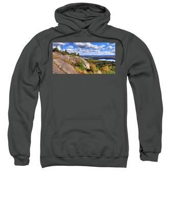 Fire Tower On Bald Mountain Sweatshirt