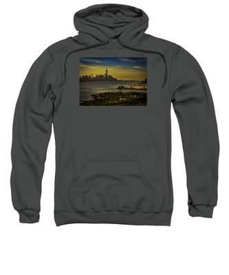 Football Field With A View Sweatshirt