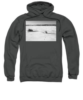 Footprints In The Snow I Sweatshirt