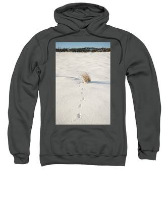 Footprints In The Snow II Sweatshirt